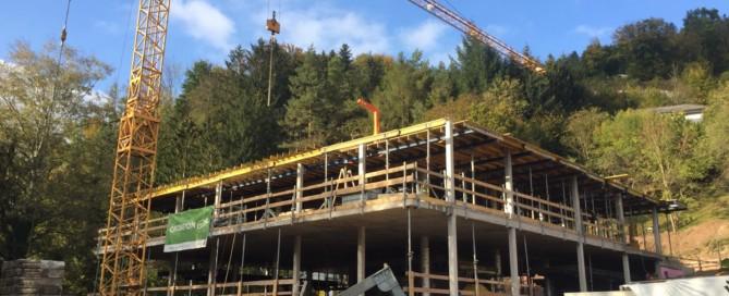 Baufortschritt gewozu